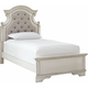 Libbie Upholstered Twin  Panel Bed