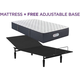 Beautyrest Landon Springs Extra Firm Twin XL Mattress with Free Reverie 2EM Adjustable Base