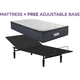 Beautyrest Landon Springs Plush Pillowtop Twin XL Mattress with Free Reverie 2EM Adjustable Base