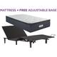 Beautyrest Landon Springs Plush Pillowtop Twin XL Mattress with Free SimpleMotion Adjustable Base