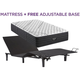 Beautyrest Black L Class Extra Firm Twin XL  Mattress with Free SimpleMotion Adjustable Base