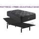 Beautyrest C Class Medium Pillowtop Twin XL Mattress with Free Reverie 2EM Adjustable Base