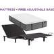 Aireloom Cypress Point Plush Twin Long Mattress with Free SimpleMotion Adjustable Base