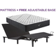 Beautyrest Black L Class Extra Firm Queen Mattress with Free Adjustable Base