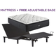 Beautyrest Black L Class Medium Pillowtop Queen Mattress with Free Adjustable Base