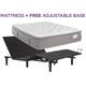 King Koil Natural Response Leighton Plush Pillowtop Queen Mattress with Free SimpleMotion Adj Base