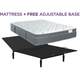 King Koil Natural Response Leighton Cushion Firm Queen Mattress with Free Reverie 2EM Adj Base