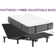 Aireloom Oakmont Plush Queen Mattress with Free SimpleMotion Adjustable Base