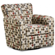 Simmons Jewel Chenille Swivel Glider Chair