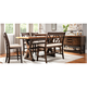 Wexford 6-pc. Counter-Height Dining Set w/ Bench