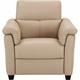 Solene Leather Power Recliner w/Power Headrest and Lumbar