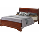 Rossie King Panel Bed