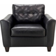 Dominic Leather Living Room Chair