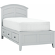 Kylie Youth Twin Platform Bed w/ 1-sd. Storage