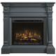 Heather Mantel w/ Electric Fireplace
