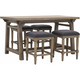 Cassidy 5-pc. Counter-Height Dining Set