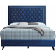 Alba Upholstered Full Panel Bed