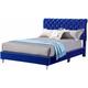 Maxx Upholstered Full Sleigh Bed