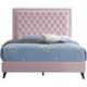 Alba Upholstered Queen Panel Bed