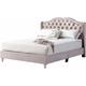 Joy Upholstered Queen Panel Bed