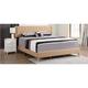 Bergen Upholstered King Panel Bed