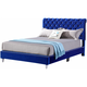 Maxx Upholstered King Sleigh Bed