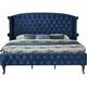 Lucca Upholstered Queen Platform Bed