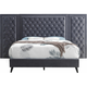 Alba Upholstered King Panel Bed with Upholstered Side Panels