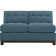 Cindy Crawford Home Metropolis Armless Microfiber Loveseat