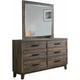 Tacoma Bedroom Dresser w/Mirror