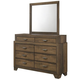 Krandall Bedroom Dresser w/Mirror