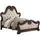 Isabel King Upholstered Panel Bed