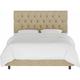 Blanchard Twin Diamond Tufted Bed