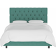 Blanchard Twin Diamond Tufted Bed