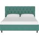 Jessica Twin Diamond Tufted Platform Bed
