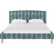 Drita Twin Upholstered Platform Bed