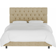 Blanchard Full Diamond Tufted Bed