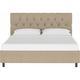 Jessica Full Diamond Tufted Platform Bed