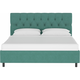 Jessica Full Diamond Tufted Platform Bed