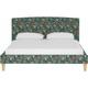 Drita Full Upholstered Panel Bed