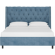 Sheridan Full Nail Button Tufted Wingback Platform Bed