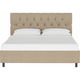 Jessica Queen Diamond Tufted Platform Bed