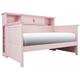 Varsity Bookcase Daybed - Light Pink