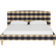 Drita Queen Upholstered Platform Bed
