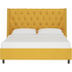 Sheridan Queen Nail Button Tufted Wingback Bed