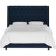 Sheridan Californina King Nail Button Tufted Wingback Bed