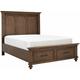 Arlington Heights King Storage Bed