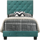 Suffolk Upholstered Twin Panel Bed
