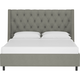 Sheridan King Nail Button Tufted Wingback Platform Bed