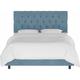 Blanchard California King Diamond Tufted Bed